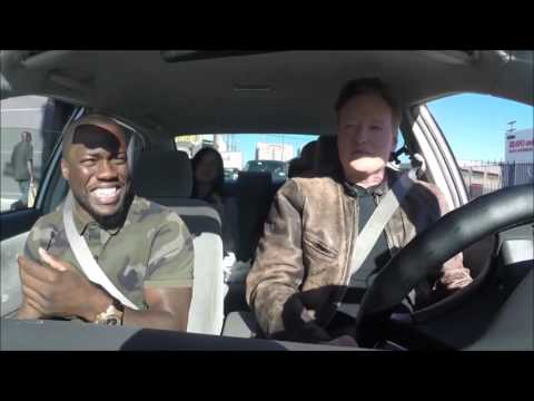 Kevin Hart and Ice Cube Hot Box Conan (видео)