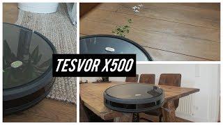 TESVOR X500 STAUBSAUGER ROBOTER TEST ► Wahnsinn !