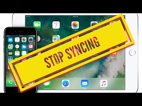 How can I stop syncing photos from my iPhone to my iPad and vice versa SOLVED 20178