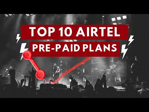 Top 10  Airtel Prepaid plans