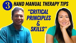 3 Tips To Be The 1% In Hand Therapy | Aarons Guide (CFMT) EP:03 | Hand Therapy Secrets