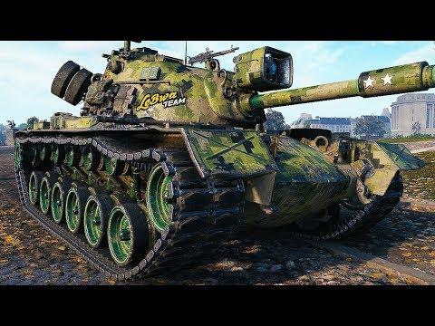 M48A5 Patton - EFFECTIVE MEDIUM - World of Tanks Gameplay
