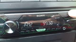 Sony DSX-A212UI FM test