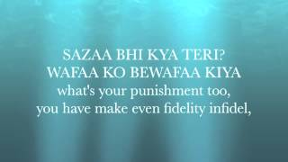 Yeh Jism Hai To Kya Jism 2 Lyrics With English Translation Ali Azmat