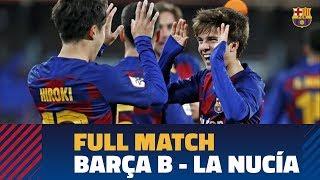 RETRANSMISIÓN   Barça B - La Nucía (3-1)