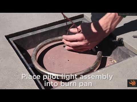 How to Replace a Pilot Light in a Fire Pit