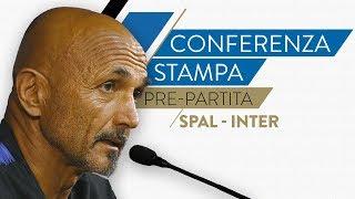 SPAL-INTER   Luciano Spalletti in conferenza stampa LIVE