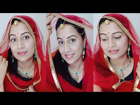 Rajputi Makeup Kaise Karen | Simple Makeup Tutorial | Step by Step Makeup Tutorial For Beginners