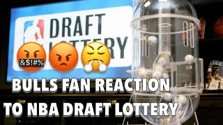Bulls Fans React to Getting the #7 Overall Pick AGAIN.. 😡😡 NBA Draft Lottery Reaction