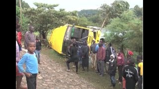 50 injured in Turbo Girls High School bus crash
