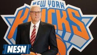 Phil Jackson, New York Knicks Agree To Part Ways