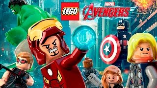 LEGO Marvel Avengers Pelicula Completa Español  Los Vengadores  Todas Las Cinematicas Game Movie