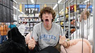 Screaming in Walmart!