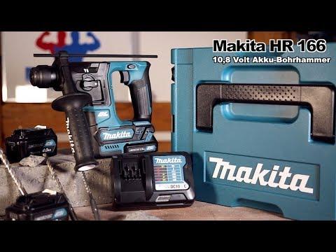MAKITA HR 166 10,8 V AKKU BOHRHAMMER | Vorstellung