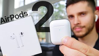 AirPods 2 Review! Everything New Vs AirPods 1