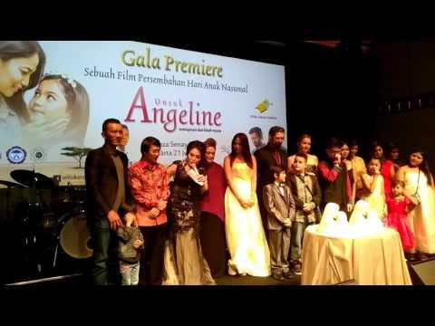 Gala premiere Film Untuk Angeline