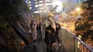 警速龍特警無委任證突襲示威者按地拘捕 被捕女生大叫:我不能呼吸 示威者迅速上山消散(高清實錄)