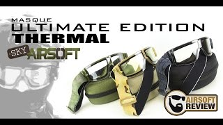 [ FR ] MASQUE ULTIMATE EDITION THERMAL # SKYAIRSOFT # AIRSOFT REVIEW