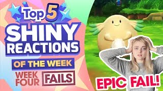 TOP 5 SHINY FAILS OF THE WEEK! Pokemon Let