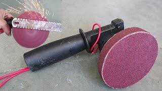 How To Make A Disc Sander / Grinder At Home