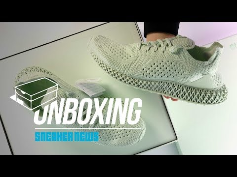 adidas Daniel Arsham Futurecraft 4D Unboxing + Review [Hidden Details]