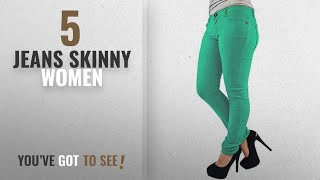 Top 10 Jeans Skinny Women [2018]: Vanilla Inc New Ladies Womens Skinny Jeans Jegging Stretchy