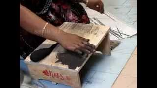 preview picture of video 'Handrolled Raw Incense Stick making'