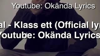Haval - Klass ett [Official Lyric Video] [Part I]