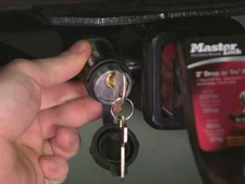 Screen capture of About Master Lock Push to Lock™ Receiver Locks