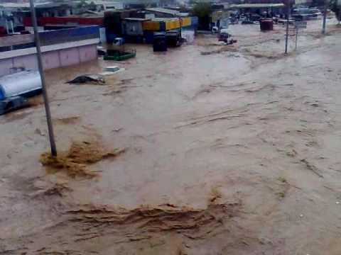 أمطار تغرق جنوب جدة  يوم الاربعاء 8-12-1430هـ