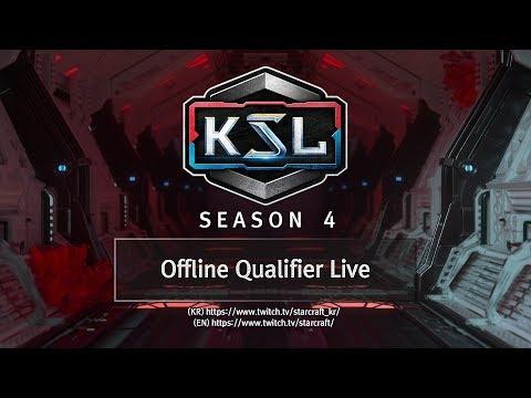 Offline Qualifiers - 1 of 4 - KSL Season 4 - StarCraft: Remastered