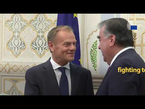 Highlights of President Tusk's Central Asia visit