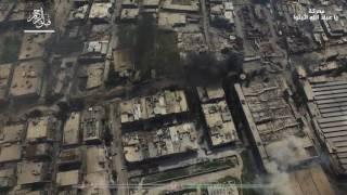 شاهد: تصوير جوي لـ فيلق الرحمن يظهر ساحة معركة ياعباد الله اثبتوا في دمشق تحميل MP3