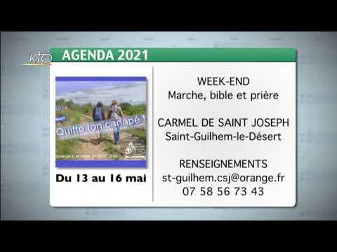 Agenda du 7 mai 2021
