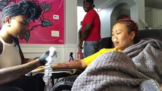 @bang.1nk Doing My Arm Tattoo I Have LOW Pain Tolerance