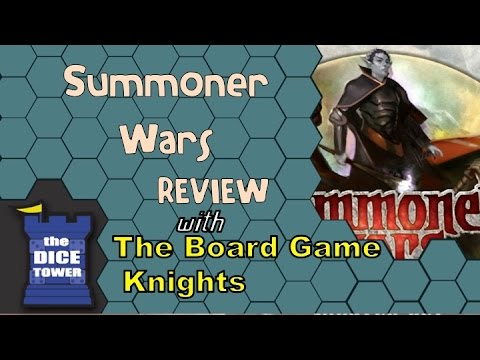 Summoner Wars Review - with the Board Game Knights