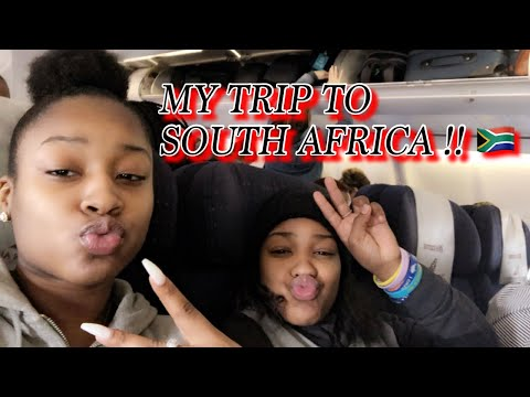 MY TRIP TO AFRICA    VLOG PT 1 !!