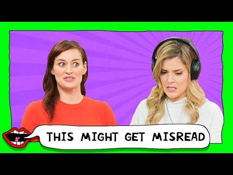 TEXTS GONE WRONG with Grace Helbig & Mamrie Hart