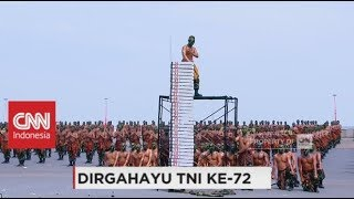Download Video Bikin Lawan Ciut, Skill Beladiri Tingkat Tinggi Prajurit TNI - HUT TNI ke-72 MP3 3GP MP4