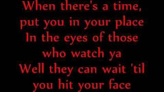 All American Rejects - Top of The World (Lyrics)