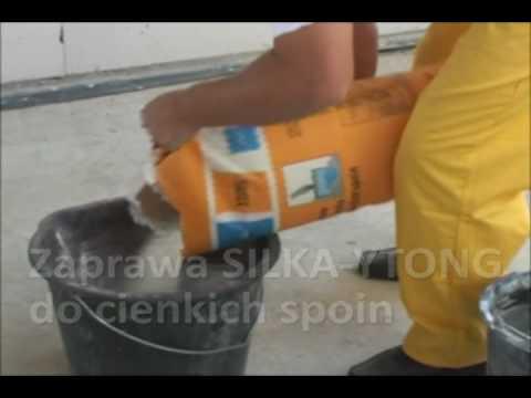 Zaprawa Ytong Silka do cienkich spoin gwarancją gładkiej i równej ściany - zdjęcie