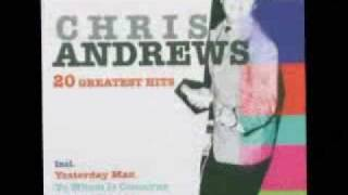 Chris Andrews -They've All Got There Eyes On You