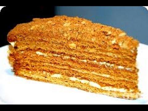 Торт медовый рецепт домашний