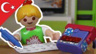 Playmobil Türkçe Ev Ödevi - Hauser Ailesi - Çocuk filmi