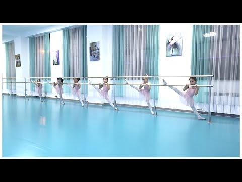 Butterfly_ballet_almaty | Уроки балета детям | Упражнения у станка