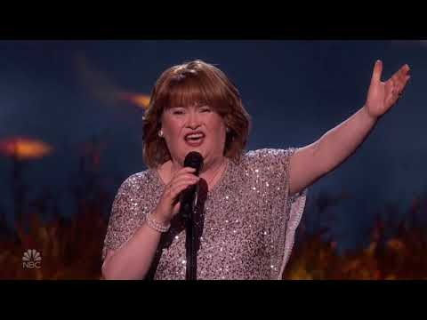 Susan Boyle: Special Perfomance With Flashbacks From BGT! | America's Got Talent 2019 (видео)