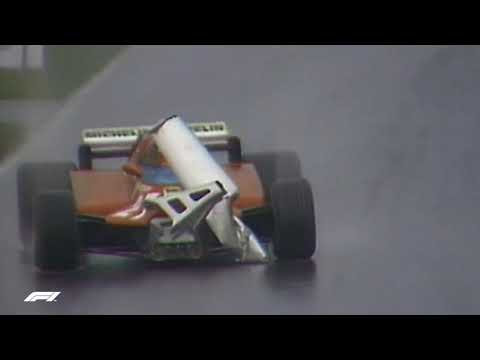 Gilles Villeneuve Drives Unsighted  | 1981 Canadian Grand Prix