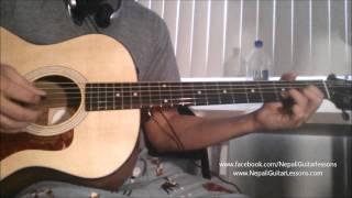 Nepali Guitar Lessons - (Beginner Part 1) Basic Chords/Open Chords