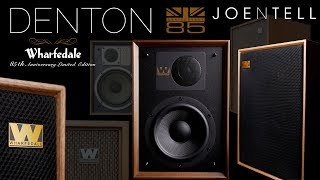 New Sound • Retro Vibe •  The Denton 85th Anniversary Speaker by Wharfedale
