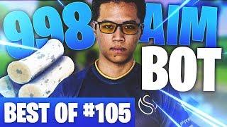 BEST OF SOLARY FORTNITE #105 ► 998 DE BOIS SUR FORTNITE = AIMBOT ?